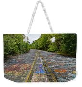 Graffiti Highway, Facing North Weekender Tote Bag