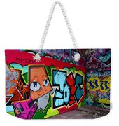 Graffiti London Style Weekender Tote Bag