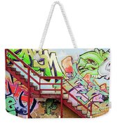 Graffiti Steps Weekender Tote Bag