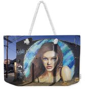 Graffiti Street Art Mural Around Melrose Avenue In Los Angeles, California  Weekender Tote Bag