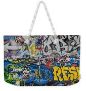 Grafitti On The U2 Wall, Windmill Lane Weekender Tote Bag