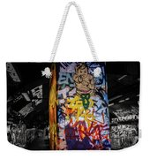 Grafitti Tunnel Weekender Tote Bag