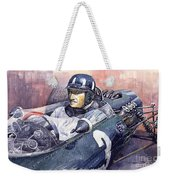 Graham Hill Brm P261 1965 Weekender Tote Bag