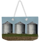 Grain Bins In A Row Weekender Tote Bag