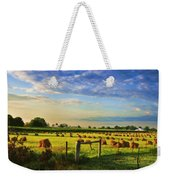 Grain In The Field Weekender Tote Bag