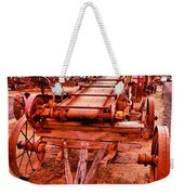 Grain Sack Loader Weekender Tote Bag