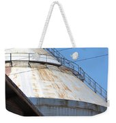 Grain Silo In Roswell Weekender Tote Bag