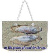 Grains Of Sand Weekender Tote Bag
