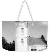 Grainy Lighthouse Weekender Tote Bag
