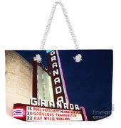 Granada Theater Weekender Tote Bag