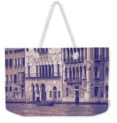 Grand Canal 2. Venice Italy Weekender Tote Bag