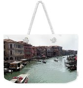 Grand Canal Venice Italy Weekender Tote Bag
