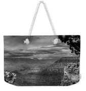 Grand Canyon Bw Weekender Tote Bag