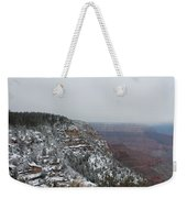 Grand Canyon In Snow Weekender Tote Bag