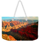 Grand Canyon National Park Sunset On North Rim Weekender Tote Bag
