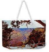 Grand Canyon National Park - Winter On South Rim Weekender Tote Bag