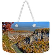 Grand Canyon Of The East Weekender Tote Bag
