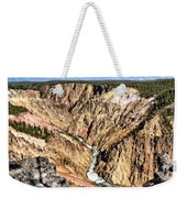 Grand Canyon Of The Yellowstone 1 Weekender Tote Bag