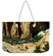 Grand Canyon Of The Yellowstone 3 Weekender Tote Bag