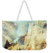 Grand Canyon Of The Yellowstone Park Weekender Tote Bag