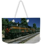 Grand Canyon Railway Train Weekender Tote Bag