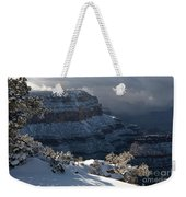 Grand Canyon Storm Weekender Tote Bag by Sandra Bronstein