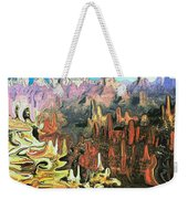 Grand Canyon Symphony - Modern Art Weekender Tote Bag