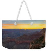 Grand Canyon Twilght Weekender Tote Bag
