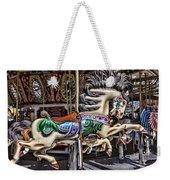Grand Carousel Hourse Weekender Tote Bag