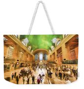 Grand Central Rush     Go2 Weekender Tote Bag
