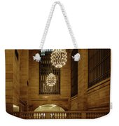 Grand Central Terminal Light Reflections Weekender Tote Bag