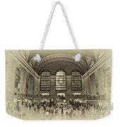 Grand Central Terminal Vintage Weekender Tote Bag