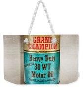 Grand Champion Motor Oil Weekender Tote Bag
