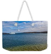 Grand Harbor On Lake Superior Weekender Tote Bag