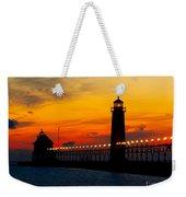 Grand Haven Sunset Weekender Tote Bag
