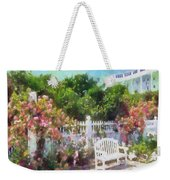 Grand Hotel Gardens Mackinac Island Michigan Weekender Tote Bag