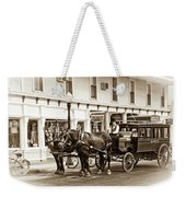 Grand Hotel Shuttle 10331 Weekender Tote Bag