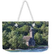 Grand Island East Channel Light Weekender Tote Bag