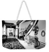 Grand Island Mansion Mosher Ranch 7 B And W Weekender Tote Bag