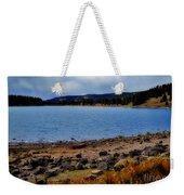 Grand Mesa Lake Weekender Tote Bag