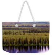 Grand Mountain Reflections Weekender Tote Bag
