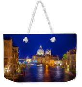 Grand Night On The Garand Canal Weekender Tote Bag