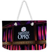 Grand Ole Opry House In Nashville, Tennessee. Weekender Tote Bag