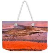 Grand Prismatic Panoramic Abstract Weekender Tote Bag