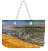 Grand Prismatic Runoff Weekender Tote Bag