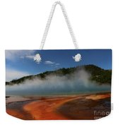 Grand Prismatic Spring At Yellowstone's Midway Geyser Basin Weekender Tote Bag