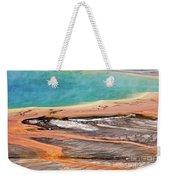 Grand Prismatic Spring Weekender Tote Bag