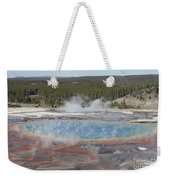 Grand Prismatic Spring, Midway Geyser Weekender Tote Bag
