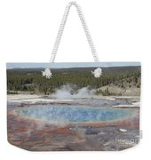 Grand Prismatic Spring, Midway Geyser Weekender Tote Bag