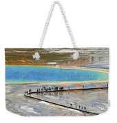 Grand Prismatic Spring Weekender Tote Bag